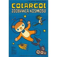Plakat Colargol Zdobywcą Kosmosu '1978/2015 Kids Bedroom, Bedroom Ideas, Comic Books, Comics, Film, Cover, Art, Movie, Art Background