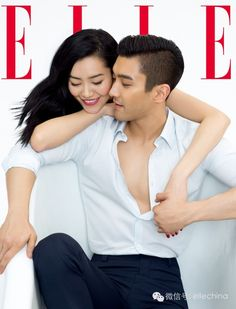Super Junior's Siwon and Liu Wen are sizzling on the cover of 'Elle China' | http://www.allkpop.com/article/2015/05/super-juniors-siwon-and-liu-wen-are-sizzling-on-the-cover-of-elle-china