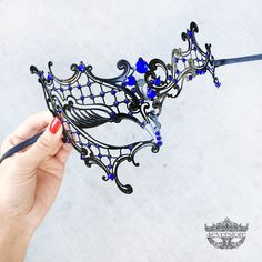 We curate the most intricate masquerade masks with the finest quality materials and craftsmanship.   Materials/Techniques: Filigree metal, high