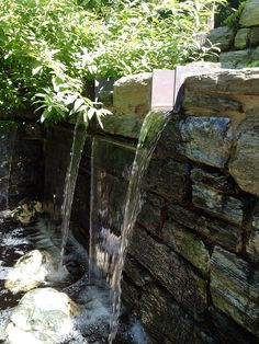 waterfall @ chanticleer