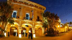 Museum of Photographic Arts - beautiful architecture and multiple options for facility rental at this museum in Balboa Park