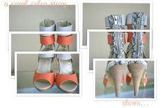 my coral color story for my blog!   http://homegrown-chic.blogspot.com/
