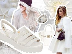 Melissa loves white Polyvore, Image, Fashion, Moda, Fashion Styles, Fashion Illustrations