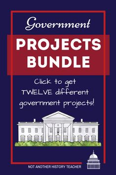Accelerate and engage your government students' with this government project bundle! This product contains 12 editable activities that are sure to engage your students. The government project bundle is sure to lead your students to success and engage them in the content.