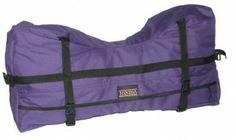 Sedona Nylon Cantle-Bag with Nylon Duffle