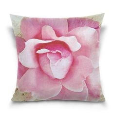Custom Pattern,you can design your own throw pillow case by sending image to us Decorative Pillow Cases, Throw Pillow Cases, Throw Pillows, Can Design, Design Your Own, Personalised Cushions, Color Patterns, Pink Flowers, Caligraphy
