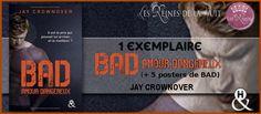 Les Reines de la Nuit: Concours : BAD Tome 2 de Jay Crownover + 5 posters...