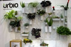 UrbioUrbio is a modular magnetic wall system for growing urban vertical gardens indoors and outdoors as well as home & office organization. Photo by: Tammy Vinson