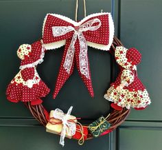 ghirlande natalizie fatte con feltro - Cerca con Google