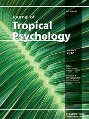 Journal of Tropical Psychology - http://journals.cambridge.org/jtp