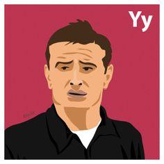 Y is for Lev Yashin. #atoz #tpitr