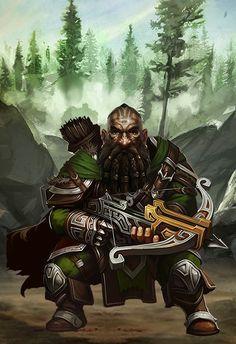 Guerreiro Ranger - anão