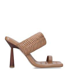 GIA BORGHINI + RHW Rosie 1 Toe Ring Sandals 100   Harrods US