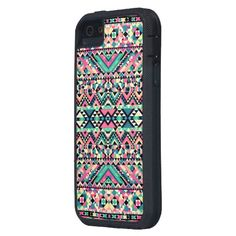 Pink Turquoise Girly Aztec Andes Tribal Pattern! Want!!!