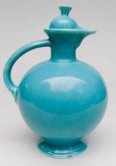 Fiesta Ware Carafe - not sure how to use this but a yellow one sure would look nice in kitchen....
