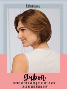 Remarkably versatile. A light eyelash bang and soft layers are tailored to frame the face for a look that's sleek and polished. #hairstyles #hairdo #hairoftheday #styleinspo #styles