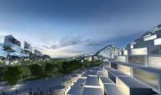 Eco Architecture: BIG Architects designs self-sufficient residential development for Zira Island