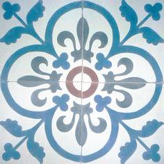 Encaustic tiles from Spain