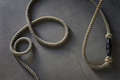 Flax extension cord. Fiberspace Collection.
