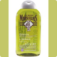 Le Petit Marseillais French Shampoo - Apple Extract and Olive Leaf - Normal Hair oz: Direct from France, Le Petit Marseillais has developed a shampoo for normal hair to strengthen and make shine. Advanced Hair, Shampoo And Conditioner, Hair Care, Apple, Beauty, Dandruff, Bottles, Image Link, France