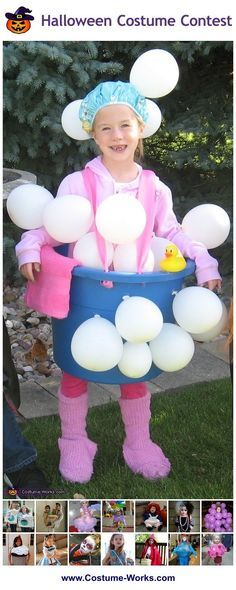 Homemade Costumes for Girls - this website has tons of DIY costume ideas! via @costume_works
