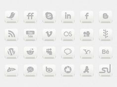 When you making post on your web, you always think about share it on all Social Networks and which for, you need to put Social media icons into your website design for quick share by Social Media Icons, Social Networks, Online Labels, Icon Set, Business, Unique, Free, Store, Social Media
