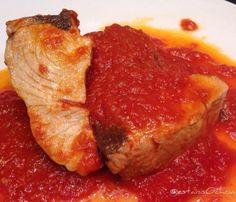 Martes de #atun pescado ayer por Lander en #ondarroa con tomate...