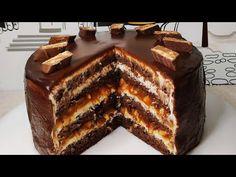 "Невероятно Вкусный Торт ""Сникерс"" - YouTube Cake Recipes, Dessert Recipes, Buttercream Cake, Tiramisu, French Toast, Christmas Crafts, Bakery, Deserts, Food And Drink"