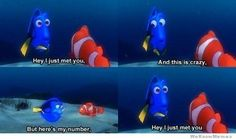 Oh Dory♥ i don't like that song but this is hysterical!