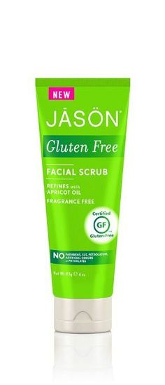 Jason Natural Products Facial Scrub - Gluten Free - Fragrance Free - 4 oz