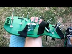 Ohuhu Lawn Aerator Shoes Revew - YouTube