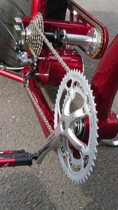 Hannan Custom LS300 chopper bike – sequin cycles