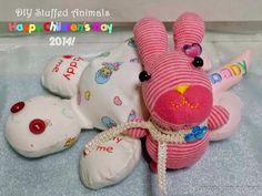 A Happy Mum | Singapore Parenting Blog: Happy Children's Day 2014 - DIY Stuffed Animals