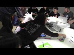 Puffles and Kara crash the economy in Open Data Game at UKGovCamp 2016 - YouTube