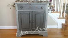 From Once Again at LTD7, sells Paint Couture!(TM), furniture and teaches classes!