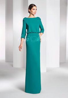 Tienda de vestidos de fiesta o Madrina de Paloma Camacho colección 2017 modelo 2780 en Eva Novias Madrid Calle Mayor, 5 Teléfono 915223573