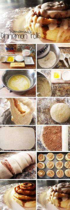 easy homemade cinnamon rolls - Joybx