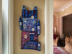 Wall art. Edinburgh house. Ritchie Collins artist