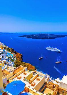 Fotos Impressionantes e Curiosas: ilha de Santorini - Grécia