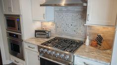 marble fantasy brown countertop quartzite kitchen straight backsplash granite countertops counter edge cabinets kitchens