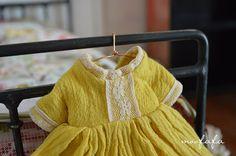 Mooji Dress  Lemon Yellow