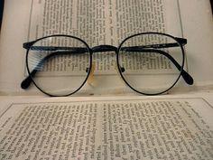 d4c17b41e4 vintage wire rim eyeglass frames dark brown by TrunkGypsies