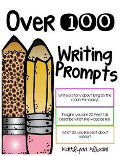 "Writing prompts for students! Free! ....Follow for ""too-neat-not-to-keep"" fun & free teaching stuff :)"