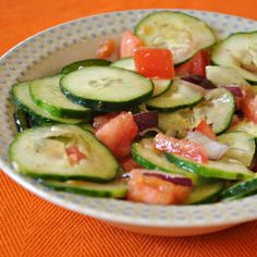 Recipe: Mediterranean Cucumber Salad