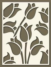 Andaluciart | Celosias Modernas - Interior y Exterior Stencils, Stencil Painting, Fabric Painting, Kirigami, Stencil Patterns, Stencil Designs, Paper Cutting, Paper Art, Paper Crafts