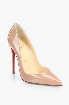 Lovely Clusters Shop | lovelyclustersshop.com: Christian Louboutin So Kate Patent Leather Pumps