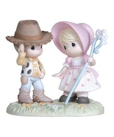 Look what I found on #zulily! Woody & Bo Peep Figurine by Disney Showcase Collection #zulilyfinds