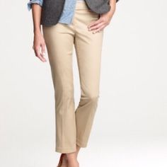 """IZOD Cropped Khaki Pants First pic of model wearing a similar style of Capri. Last 3 pics are of actual item/color. IZOD Khaki Cropped Pants are 97% Cotton and 3% Spandex. Size 12. The color is Khaki/Tan. Laying flat """"17 (waist 34). Inseam is """"23. Length is """"33.5. Rise """"10. This item is in Good condition, Authentic and from a Smoke And Pet free home. All Offers through the offer button ONLY. I Will not negotiate Price in the comment section. Thank You😃 LOCATION BIN 1 IZOD Pants Ankle…"""