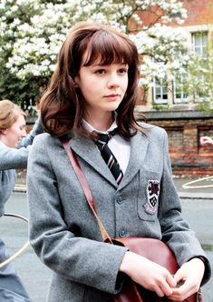 Carey Mulligan in 'An Education', 2009 - Costume Design by Odile Dicks-Mireaux.