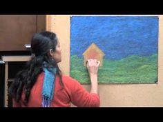 Gail Lescher - Advanced Chalkboard Drawings - Part 1 - House and Landscape (2 parts)
